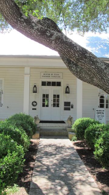 Texas Museum Of Handmade Furniture Texas Historic Homes