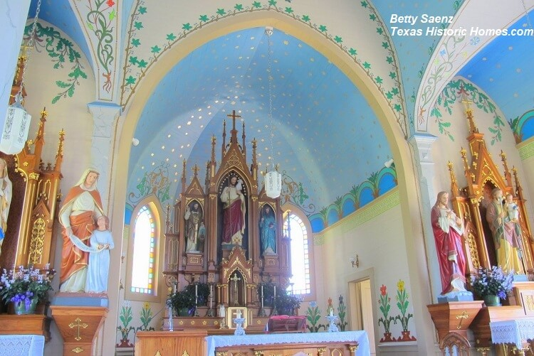 The Painted Churches of Texas - Texas Historic Homes